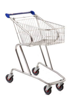 57 Litre Compact Shopping Trolley